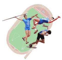 L'atletica leggera, corsa, salti e lanci.