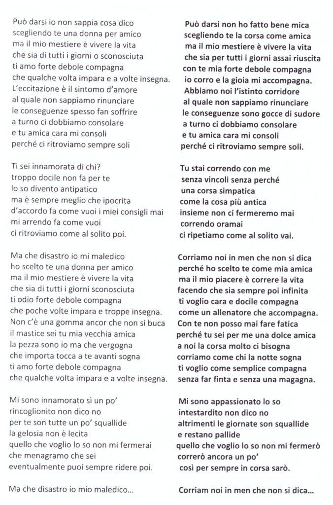 Lucio Battisti..., podisticamente